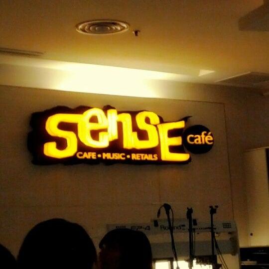 Photo taken at Sense Cafe by Chong L. on 4/10/2012