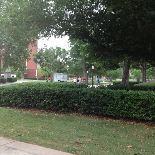 Photo taken at South Oval by Natalie G. on 5/7/2012