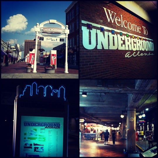 underground atlanta - five points district