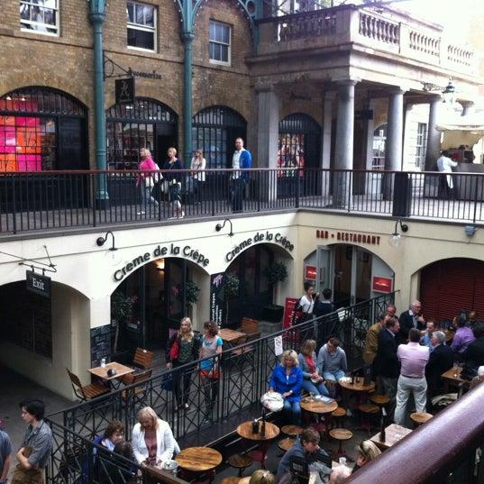 Photo taken at Covent Garden Market by Derek R. on 7/3/2012