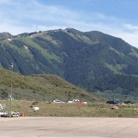 Photo taken at Aspen/Pitkin County Airport (ASE) by Pam D. on 5/22/2012
