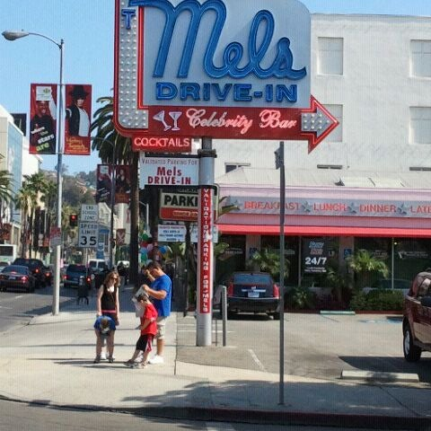 Photo taken at Mel's Drive-In by Adrienne on 7/22/2012
