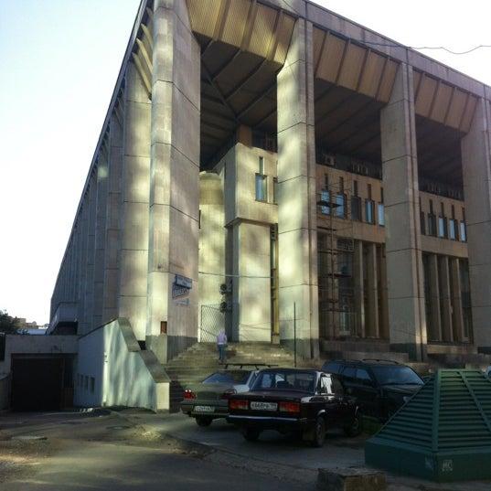 Photo taken at Московский дворец молодежи by Наталия Б. on 5/24/2012