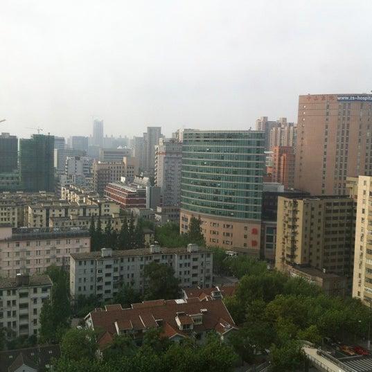 Photo taken at Hope Hotel Shanghai by Masataka K. on 8/10/2012