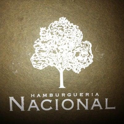 Photo taken at Hamburgueria Nacional by Ana Claudia B. on 8/12/2012