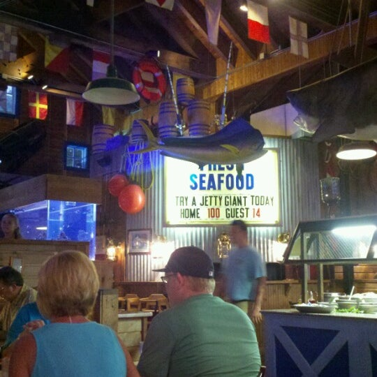 Photo taken at Fisherman's Wharf Seafood House by Helen B. on 7/30/2012