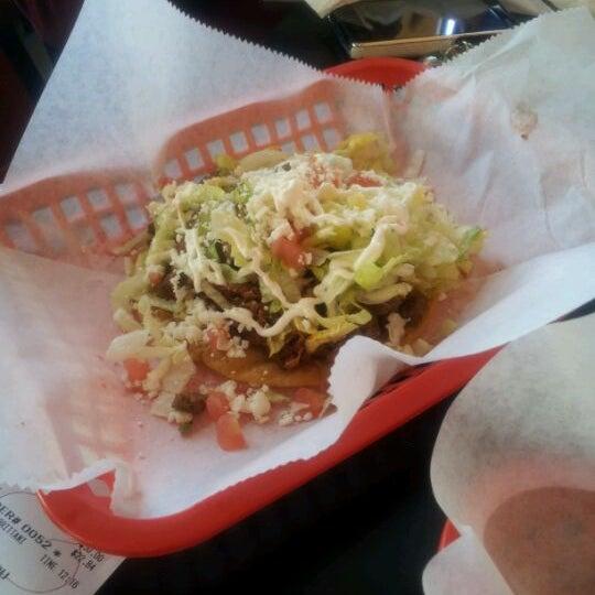 Photo taken at Tia Cori's Tacos by Princess E. on 2/8/2012