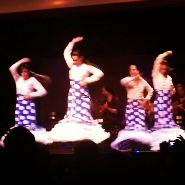 Photo taken at Palacio del Flamenco by Ersin Ö. on 8/20/2012