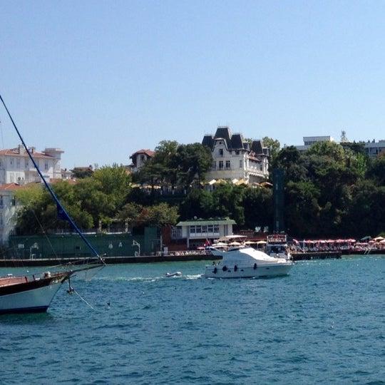 Photo taken at Büyükada Mavi Marmara Motor İskelesi by Serkan B. on 8/26/2012