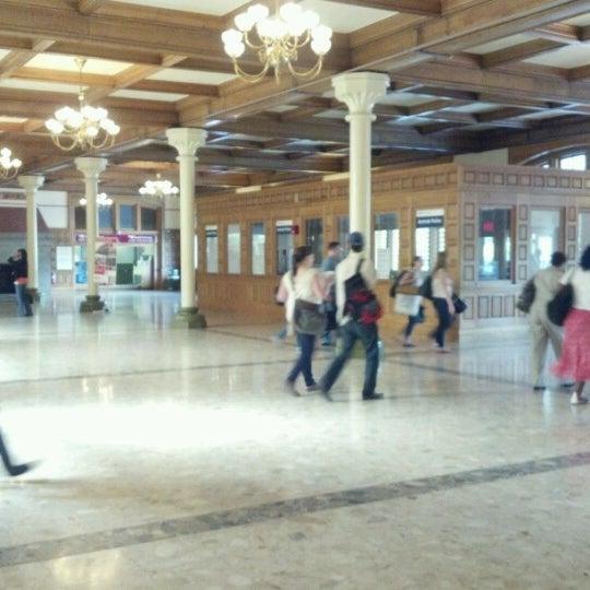 Photo taken at Amtrak: Harrisburg Transportation Center (HAR) by Em K. on 6/14/2012