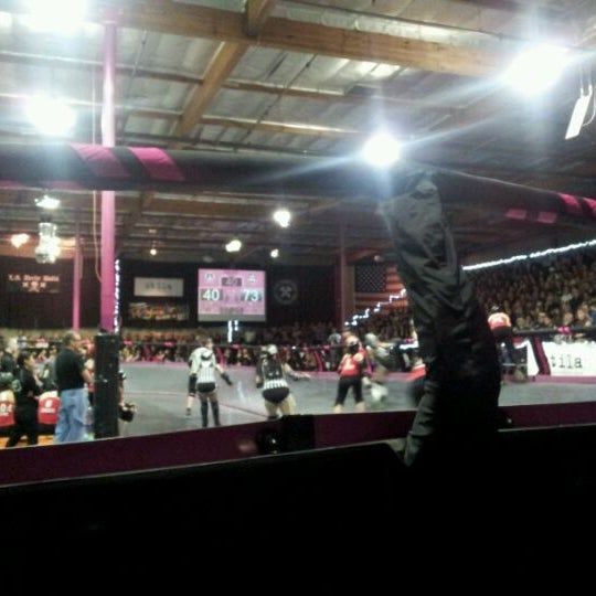 Photo taken at Doll Factory (L.A. Derby Dolls) by Michelle on 3/4/2012