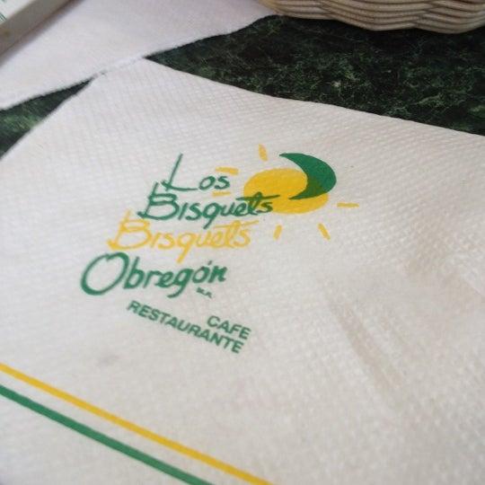 Photo taken at Los Bisquets Bisquets Obregón by Abraham M. on 6/18/2012