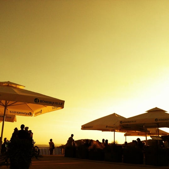 Photo taken at Kahlenberg by Hannes O. on 8/14/2012