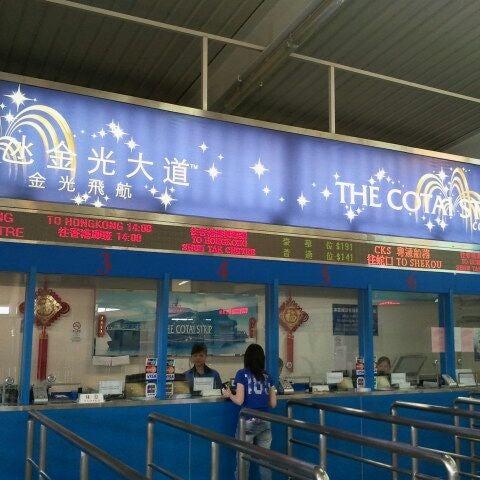 Photo taken at Taipa Ferry Terminal by Leonie K. on 6/1/2012