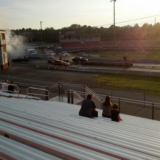 Photo taken at Atco Raceway by Jacob M. on 8/21/2012