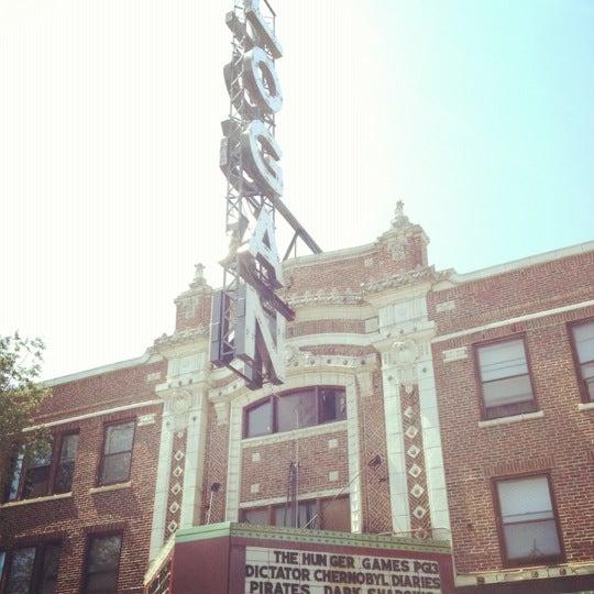 Photo taken at Logan Theatre by Carmen d. on 6/26/2012