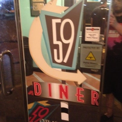 Photo taken at 59 Diner by Pake A. on 8/1/2012
