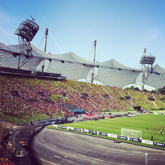 Photo taken at Olympic Stadium by Juba R. on 5/19/2012