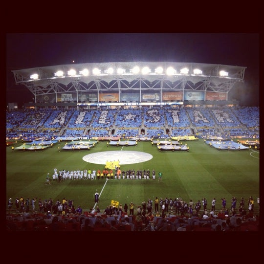 Photo taken at Talen Energy Stadium by Stan S. on 7/26/2012