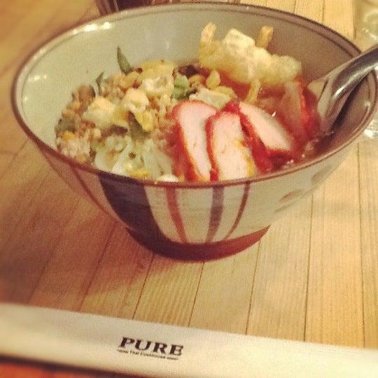 Foto tomada en Pure Thai Cookhouse por Trin A. el 9/10/2012