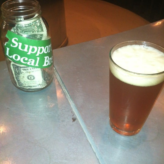 Photo taken at Good People Brewing Company by Deanna C. on 8/10/2012