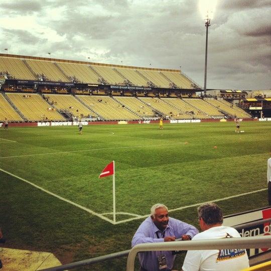 Photo taken at MAPFRE Stadium by Matt T. on 9/1/2012