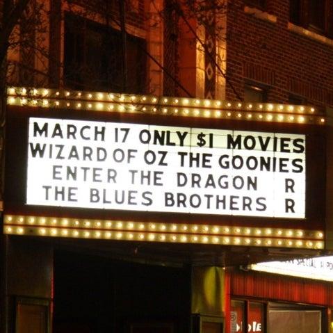 Photo taken at Logan Theatre by Antonio D. on 3/16/2012
