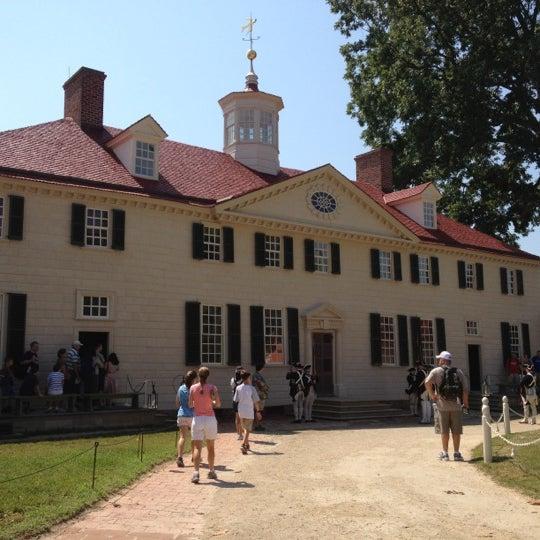 Photo taken at George Washington's Mount Vernon by Saul C. on 7/4/2012