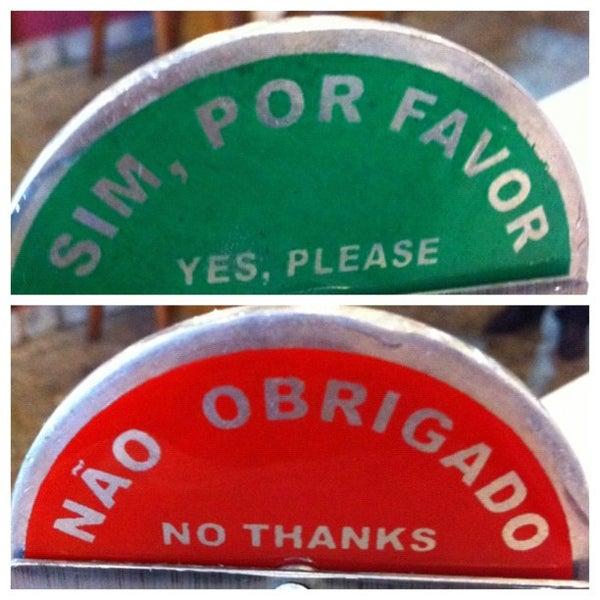 Foto tirada no(a) Rincão Gaucho Grill por Jeff P. em 3/6/2012
