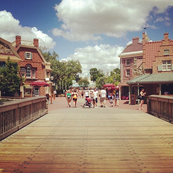 Photo taken at Frontierland by Abhinav S. on 5/24/2012