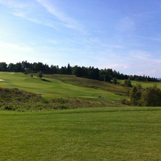 Photo taken at Ypsilon Golf Resort Liberec by Jan R. on 9/9/2012