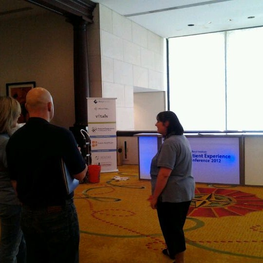 Photo taken at The Worthington Renaissance Fort Worth Hotel by Rachael D. on 4/24/2012
