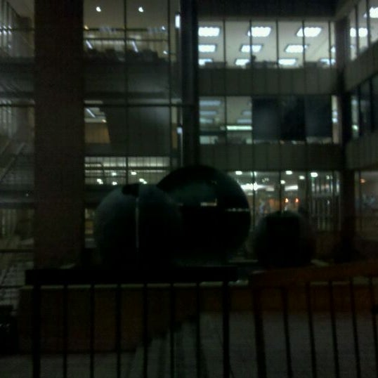 Photo taken at UWM Golda Meir Library by π on 2/1/2012