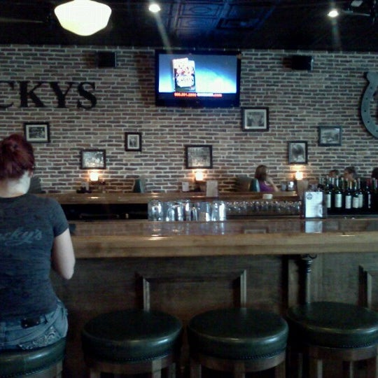 Photo taken at Lucky's 13 Pub by Lisa S. on 8/27/2012