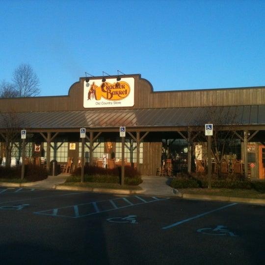 Photo taken at Cracker Barrel by Jim R. on 2/28/2012