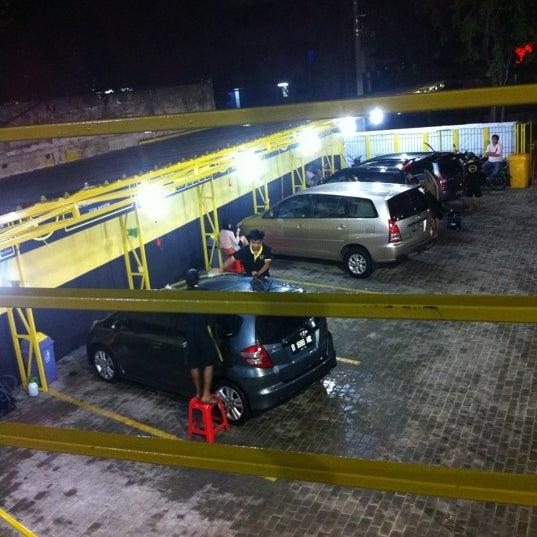 Yellow Car Wash