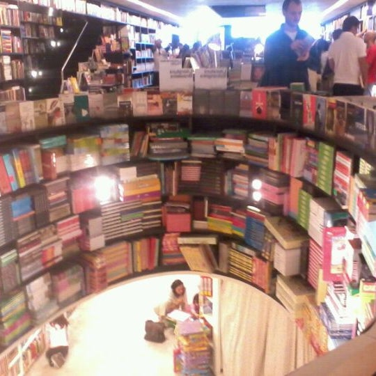 Photo taken at Livraria da Vila by Ricardo S. on 9/17/2011