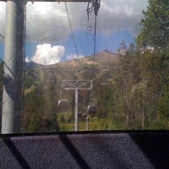 Photo taken at Breck Connect Gondola by jaqi v. on 8/27/2011