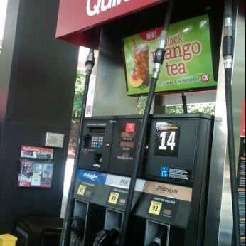 Photo taken at QuikTrip by Brandon W. on 6/21/2012