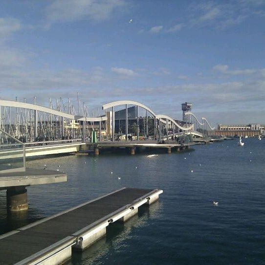 Photo taken at OneOcean Port Vell Barcelona by Alexei B. on 12/19/2011