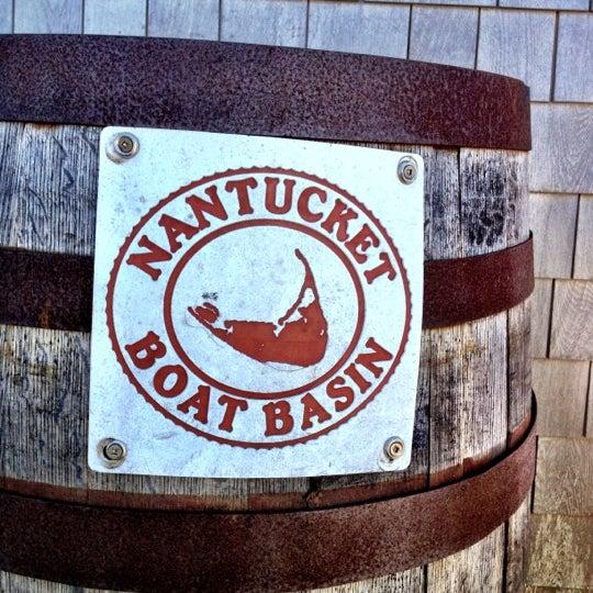 Photo taken at Nantucket Boat Basin by Steven T. on 7/3/2012