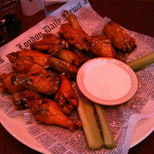 Sriracha Teriyaki Wings at the Wooden Nickel Tavern in Tucson (Credit: Adam Lehrman) The best day to stroll in is on Wednesday for fifty-cent wing night (dine-in only). Flavors include hot, BBQ, raspberry chipotle, garlic parm, naked, and teriyaki.