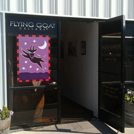 Photo taken at Flying Goat Cellars Tasting Room by Rob G. on 10/9/2011