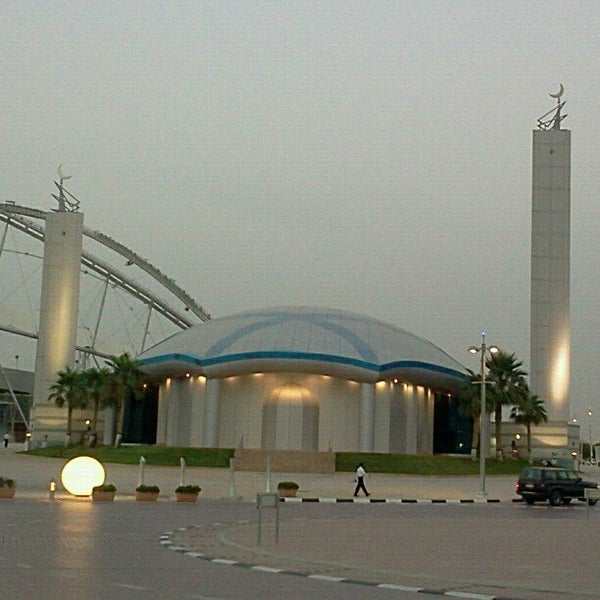 Photo taken at Aspire Park by mohammed l. on 5/17/2012
