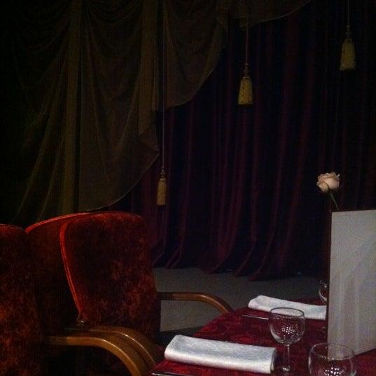 Снимок сделан в Театр-кабаре на Коломенской/ The Private Theatre and Cabaret пользователем Катерина Ч. 3/11/2012