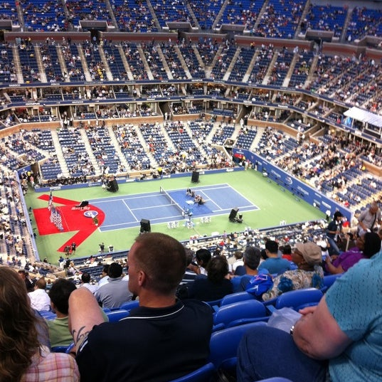 Photo taken at US Open Tennis Championships by Ross E. on 8/29/2011