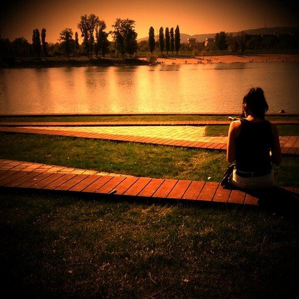 Foto tomada en Kopaszi-gát por Adam S. el 4/28/2012