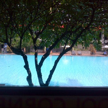 Photo taken at Graha Residence Swimming Pool by Sianggana D. on 1/3/2012