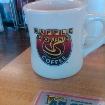 Photo taken at Waffle House by Stephanie D. on 10/9/2011
