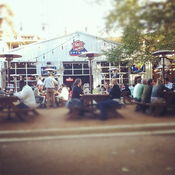Photo taken at Katy Trail Ice House by Erica R. on 11/4/2011